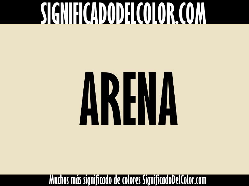 Cual es el color Arena ▷【Como es el color arena + Ejemplo】