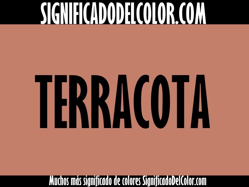Cual es el color terracota ▷【Como es el color terracota + Ejemplo】