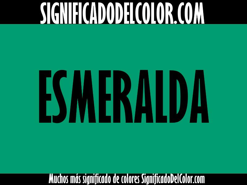 Cual es el color verde esmeralda ▷【Como es el color verde esmeralda + Ejemplo】