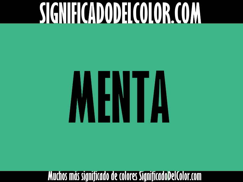 Cual es el color verde menta ▷【Como es el color verde menta + Ejemplo】