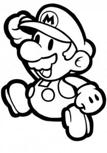 Super Mario para colorear 2