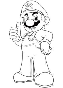 Super Mario para colorear 3
