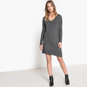 vestido de color gris antracita