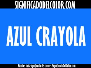 cual es el color crayola