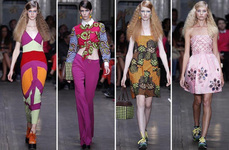 las pasarelas de moda tienen gran importancia a la hora de hacer que los colores sean populares o no