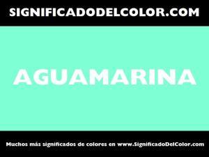 cual es el color aguamarina