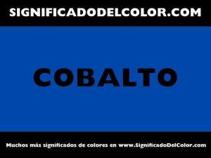 cual es el color cobalto
