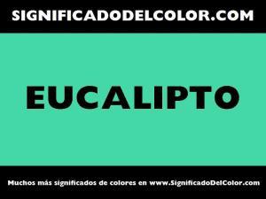 cual es el color eucalipto