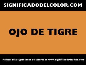 cual es el color ojo de tigre