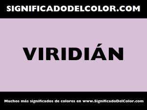 cual es el color viridian