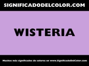 cual es el color wisteria