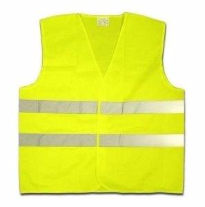el amarillo fluorescente se utiliza sobre todo en ropa que requiera resaltar su visibilidad en condiciones de poca luminosidad