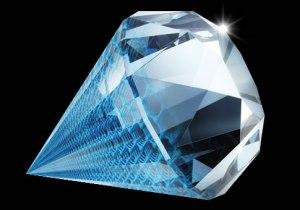 los tonos azules del diamante dan nombre a este color