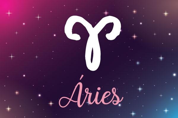 Signo de Aries horoscopo de hoje