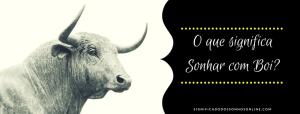 ▷ Sonhar com Boi -【SIGNIFICADOS INACREDITÁVEIS】