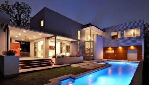 casa bonita com piscina