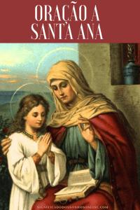 ▷ Oração a Santa Ana