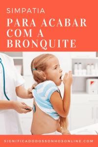 ▷ Simpatias para Bronquite 【INACREDITÁVEL】