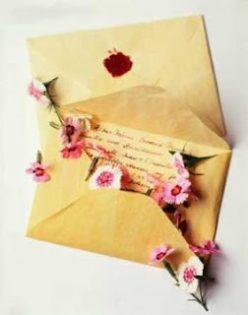 Carta para namorado de aniversário