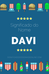 Significado do nome Davi
