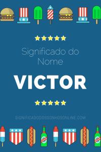 Significado do nome Victor