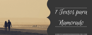 ▷ 7 Textos Para Namorado -【Tumblr】