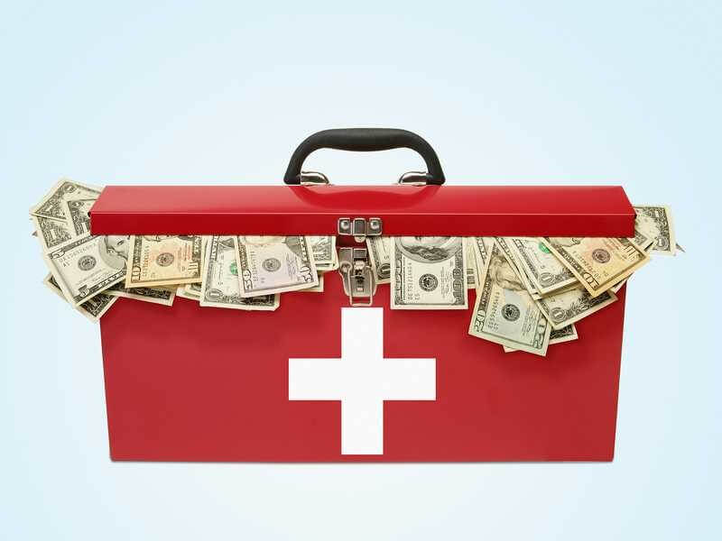 dinheiro e saúde