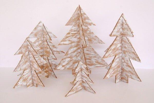 árvore-de-natal-de-papelão
