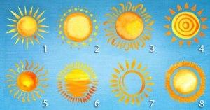 Escolha Um Sol e Descubra Uma Mensagem Que Vai Iluminar o Seu Futuro
