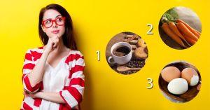 Qual Desses Você Escolhe? Cenoura, Ovo ou Café? Faça o Teste e Veja o Que Sua Escolha Significa