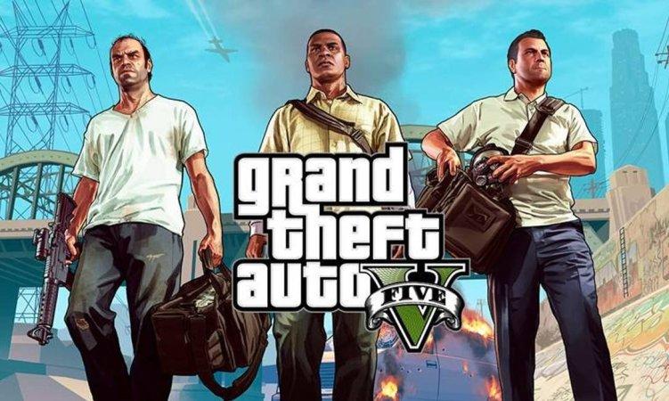 capa do jogo GTA V