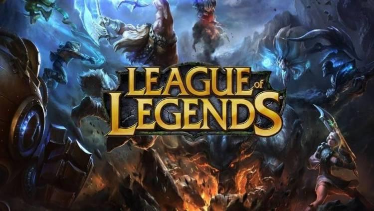capa do jogo League Of Legends