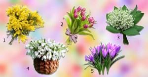Qual flor você escolhe? Elas dirão quais serão os acontecimentos agradáveis do próximo mês