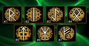 Qual runa você escolhe? Descubra o que dezembro trará para você!