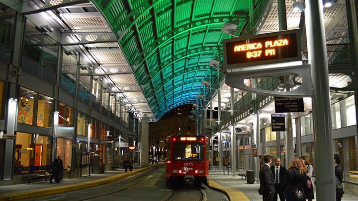 san diego trolley station