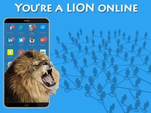 A Lion Online