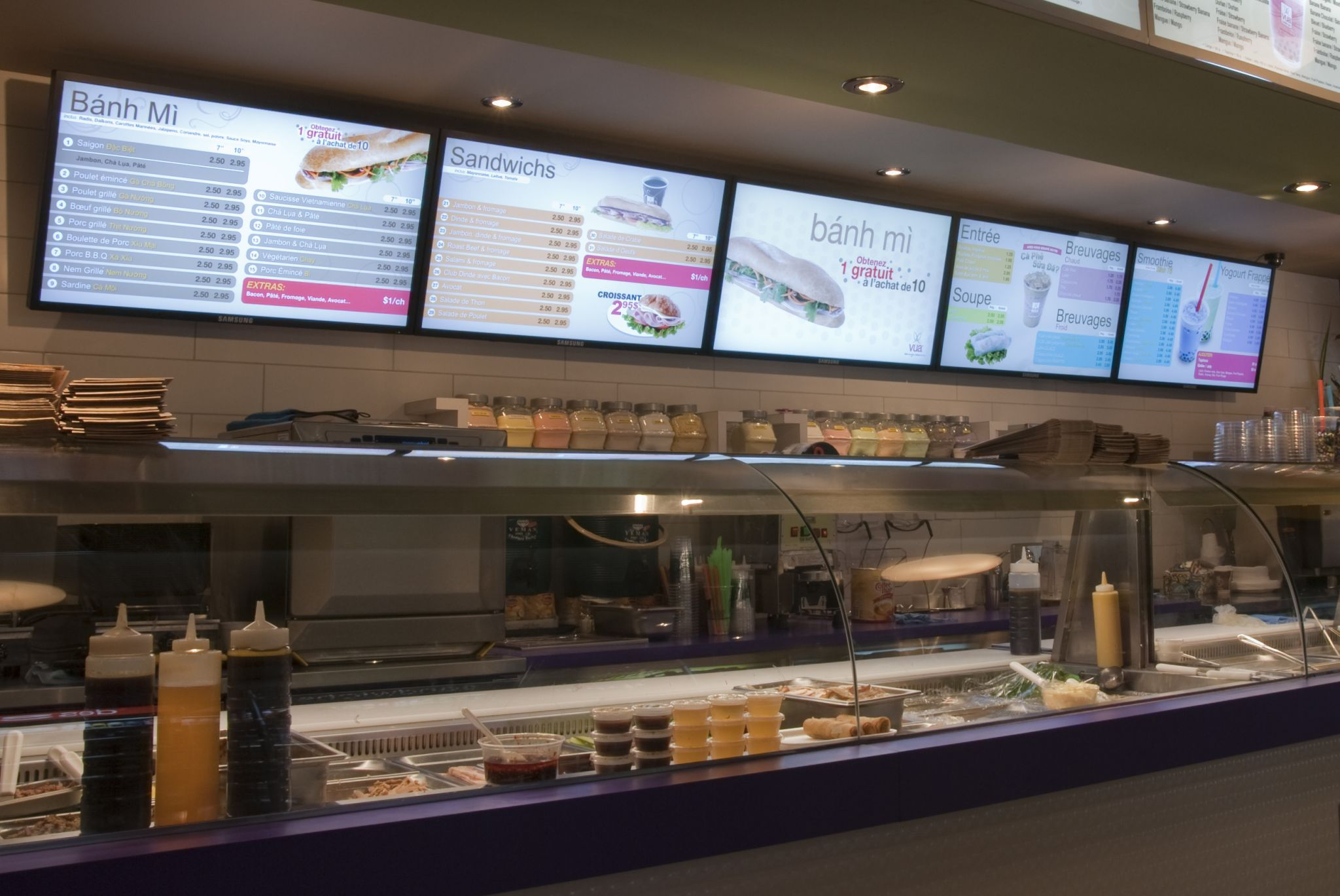 Digital Signage Dynamic Displays For Food Services Sign Media