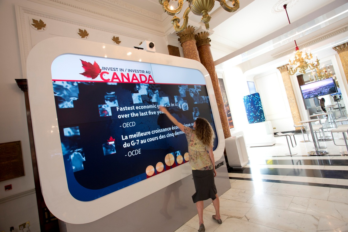 Digital Displays Go For Gold At London Olympics Sign Media