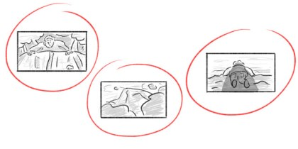 Pittogrammi dello storyboard