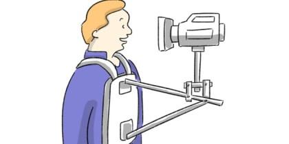 Snorricam, action kamera