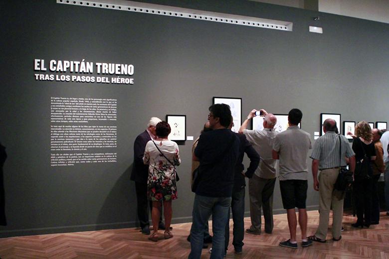Exposición El Capitán Trueno. Foto7