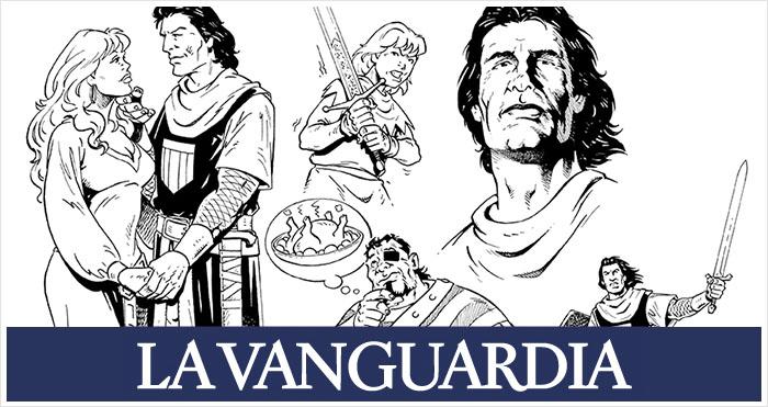 El Capitán Trueno La Vanguardia