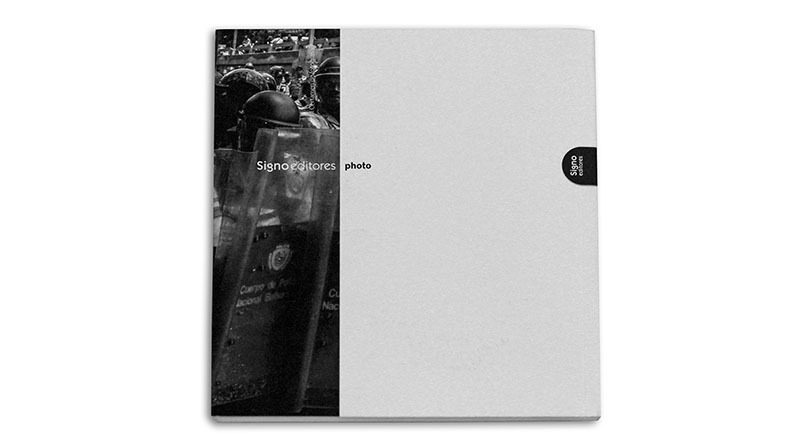 contraportada Catálogo II Certamen Signo editores Photo