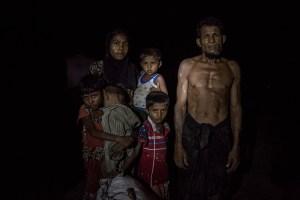 Certamen fotografía - Rohingyas escapando del genocidio