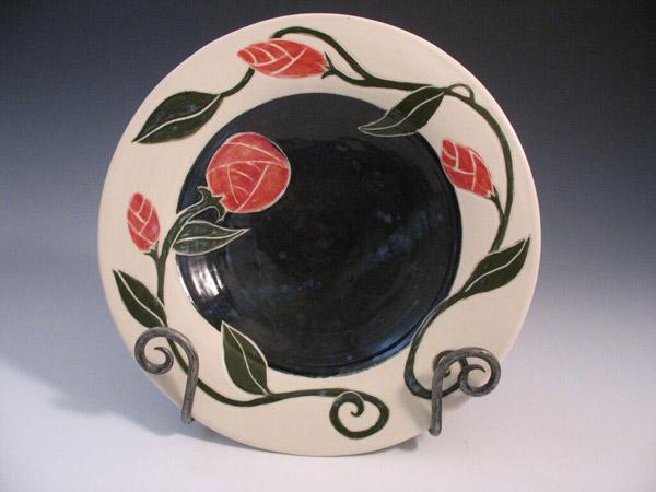 Judy Kanigel, Ceramic Plate