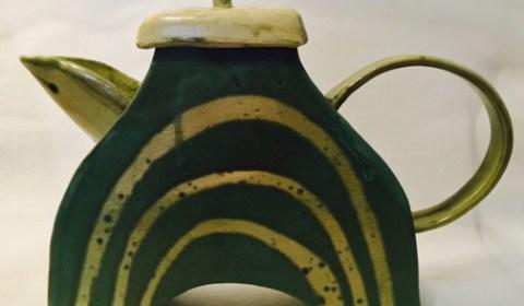 Judy Kanigel Teapot
