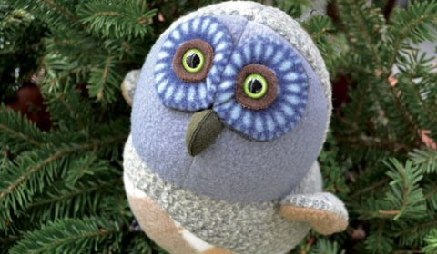 Linda Bryant, Soft Sculpture, Owl