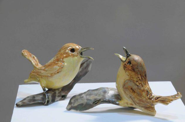 Sholeh Regna Ceramic Wern Sculptures