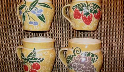 Judy Kanigel, Ceramic Mugs