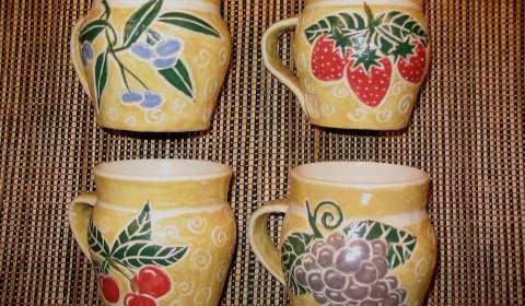 Judy Kanigel, Ceramic Mugs